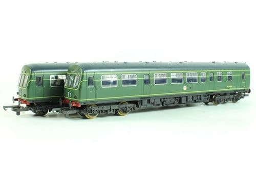 Lima Class 101 BR Green DMU 3 Car Unit - DCC Fitted