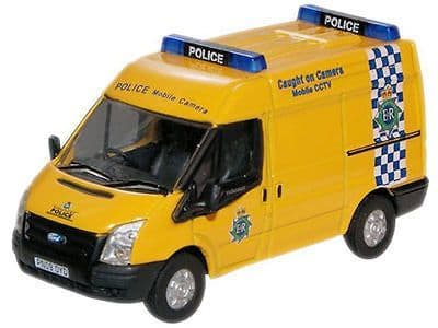 Oxfords Ford Transit Caught on Camera Merseyside Police