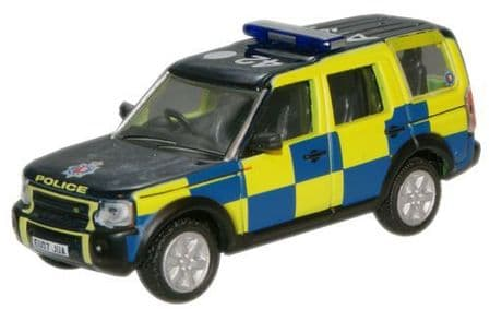 Oxfords Police Land Rover Discovery with Flashing roof Lights
