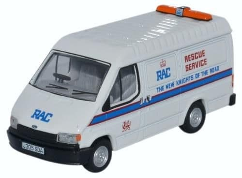 Oxfords RAC Welsh Transit Van with Flashing roof Lights