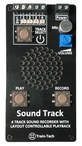 Train Tech Sound Recorder and Player