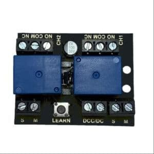 Twin Channel Relay Controller for DC/DCC