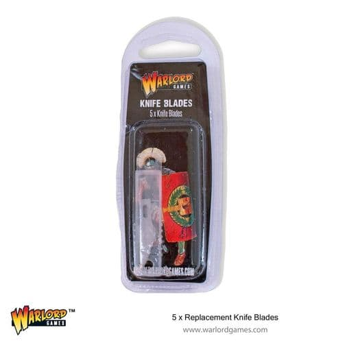 Warlord Games 5x Replacement Knife Blades