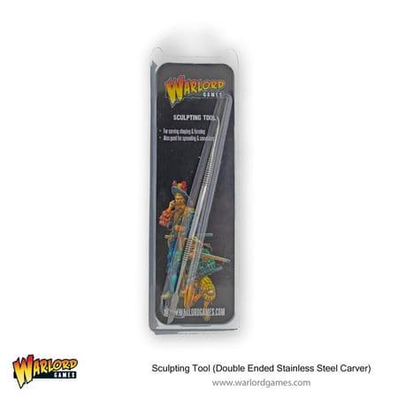 Warlord Games Sculpting Tool (Double Ended Stainless Steel Carver)