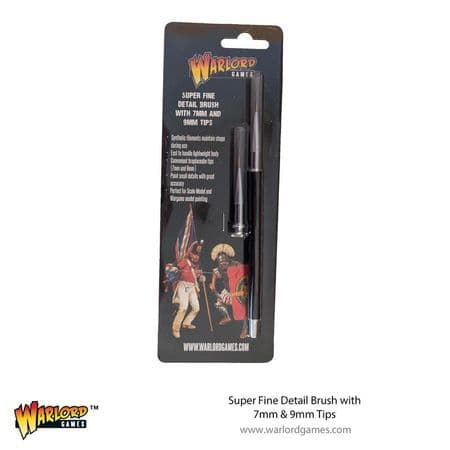 Warlord Paint Brush and Replacement Tips