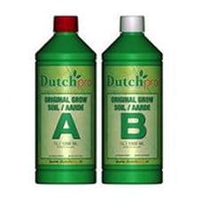 Dutch Pro Soil A+B Grow Nutrient