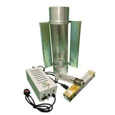"""Pro Gear ( Horti Gear ) 600W With Cool Tube 6"""" Reflector and Sun Lux Pro Dual Spectrum HPS Lamp"""