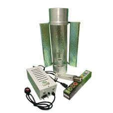 """Pro Gear ( Horti Gear ) 600W With Cool Tube 6"""" Reflector and Sunmaster Dual Spectrum HPS Lamp"""