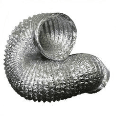 Silver Ducting 10 Metre Lengths