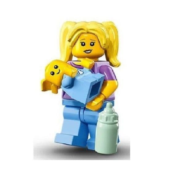 Babysitter Lego Minifigure from Series 16 Minifigures