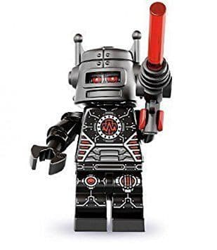 Evil Robot Lego Minifigure from Series 8 Minifigures
