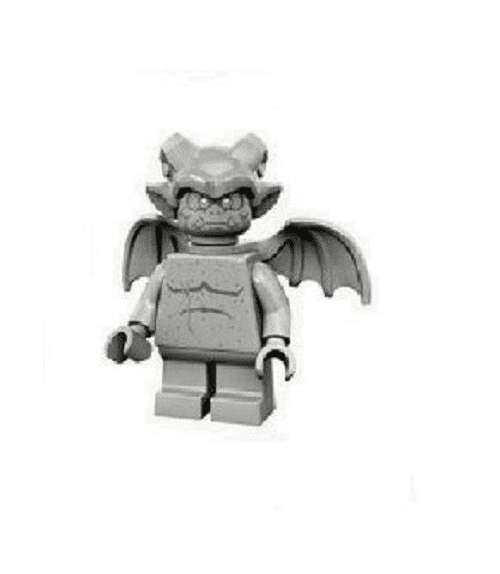 Gargoyle Lego Minifigure from Series 14 Monsters Minifigures