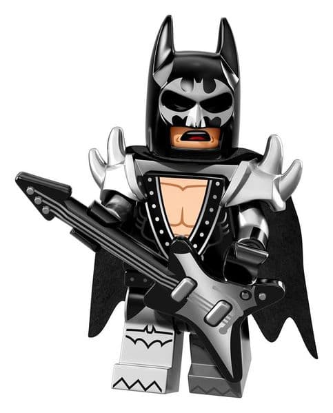 Glam Metal Batman from Lego Batman Movie Minifigure Series