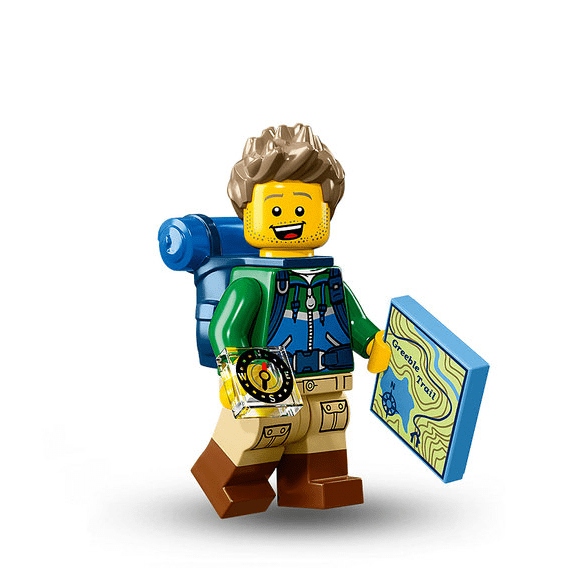 Hiker Lego Minifigure from Series 16 Minifigures