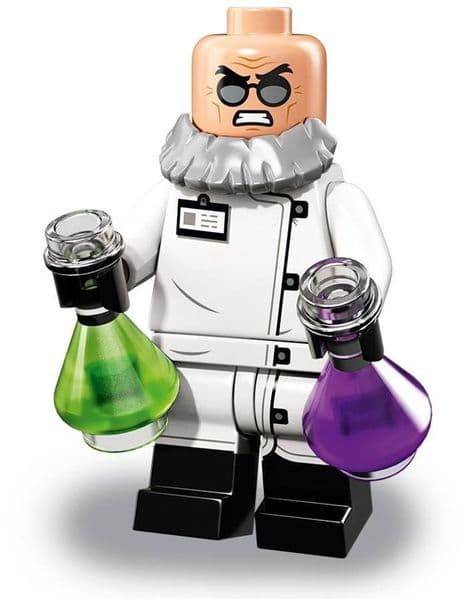 Hugo Strange from Lego Batman Movie Series 2 Minifigures