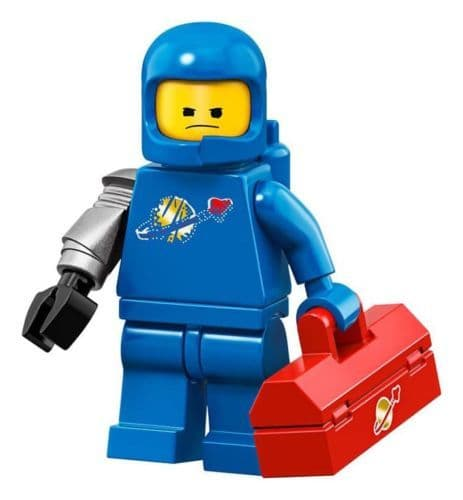 Lego Apocalypse Benny Movie 2 Minifigure