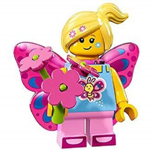 Lego Butterfly Girl Minifigure from Series 17