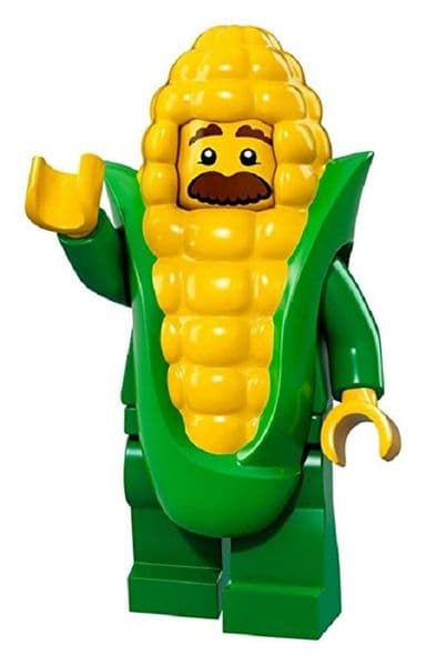 Lego Corn Cob Guy Minifigure from Series 17