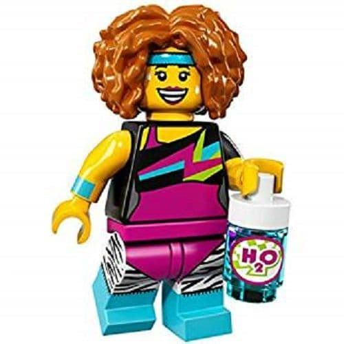 Lego Dance Instructor Minifigure from Series 17