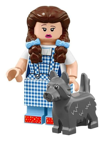 Lego Dorothy Minifigure And Toto Movie 2