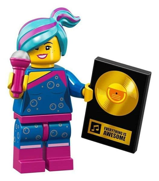 Lego Flashback Lucy Movie 2 Minifigure