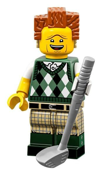 Lego Gone Golfin President Business Movie 2 Minifigure
