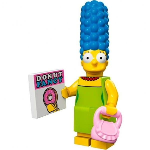 Lego Marge Simpson Minifigure from Series 1 Simpsons