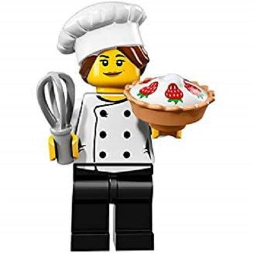 Lego Minifigure Gourmet Chef from Series 17