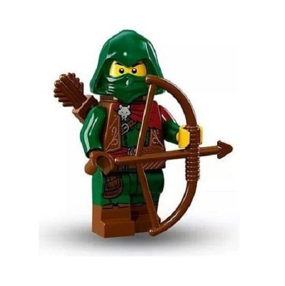 Lego Rogue Minifigure from Series 16 Minifigures