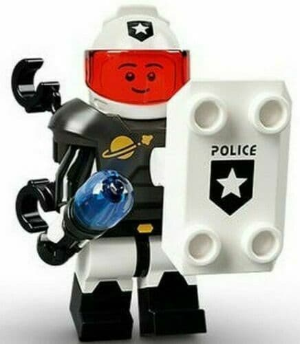 Lego Space Police Guy  Minifigure Series 21