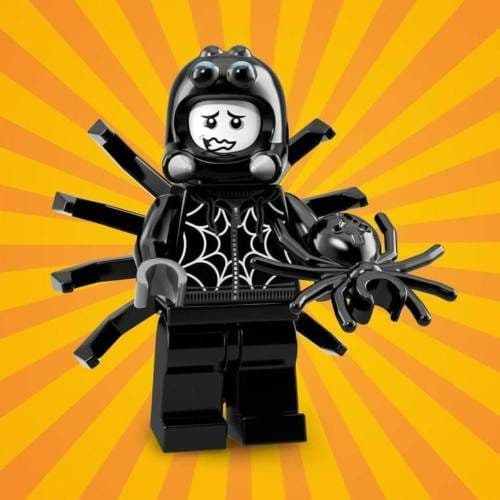 Lego Spider Suit Boy Minifigure from Series 18