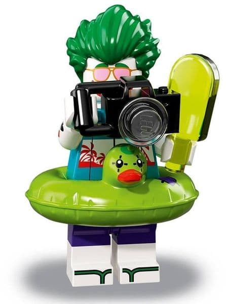 Lego Vacation The Joker from Batman Movie Series 2 Minifigures
