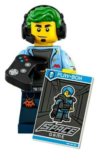 Lego Video Game Champ Minifigure from Series 19