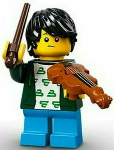 Lego Violin Kid Minifigure Series 21