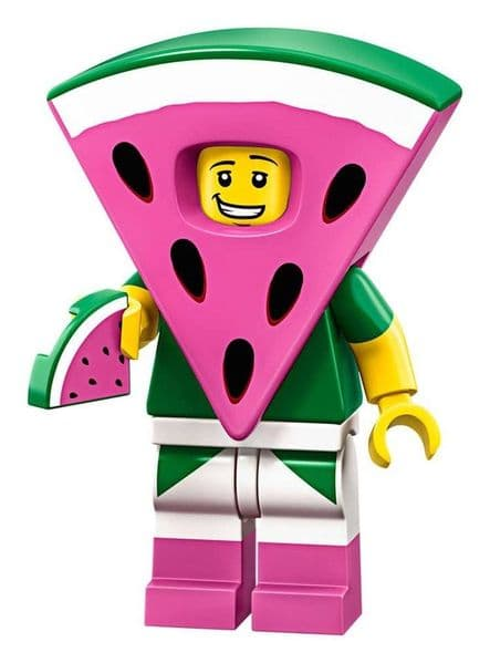 Lego Watermelon Dude Movie 2 Minifigure