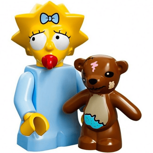 Maggie Simpson Lego Minifigure from Series 1 Simpsons Minifigures