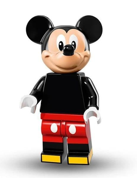 Mickey Mouse from Lego Disney Minifigure Series