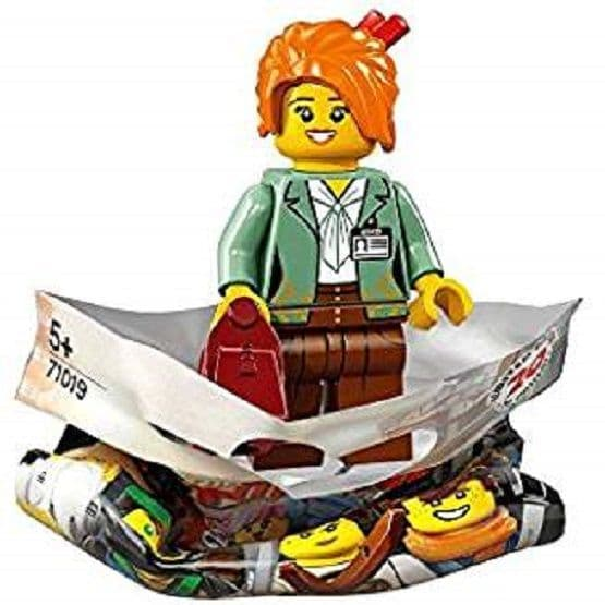 Misako Lego Ninjago Movie Minifigure