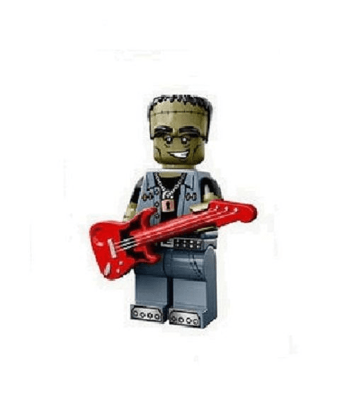 Monster Rocker Lego Minifigure from Series 14 Monsters Minifigures