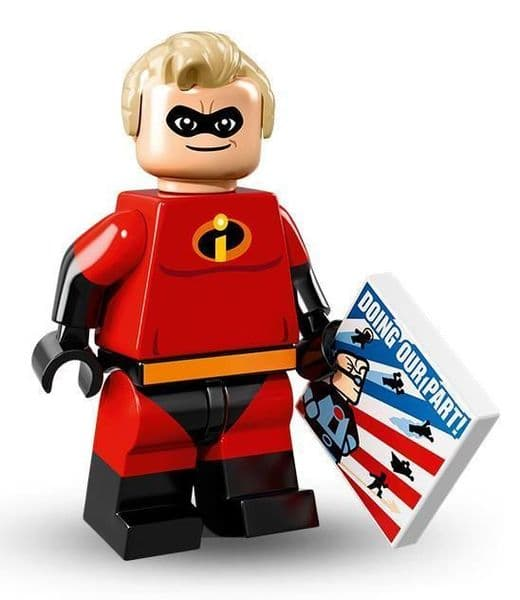 Mr Incredible from Lego Disney Minifigure Series
