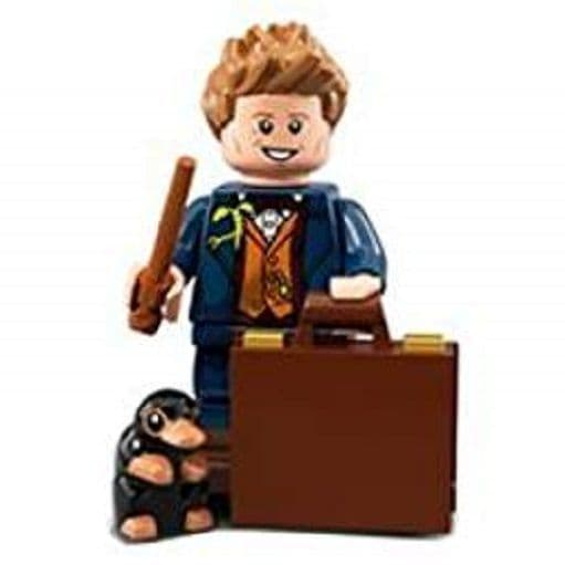 Newt Scamander from Lego Minifigures Harry Potter Series