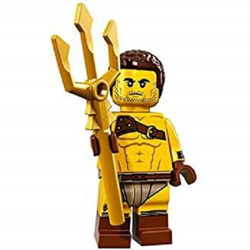 Roman Gladiator Lego Minifigure from Series 17 Minifigures
