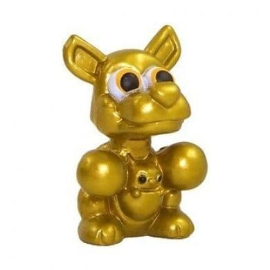 Rooby Gold from Moshi Monsters Series 4 Moshlings