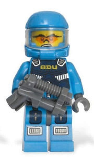 Soldier 5 from Lego Alien Conquest Minifigures