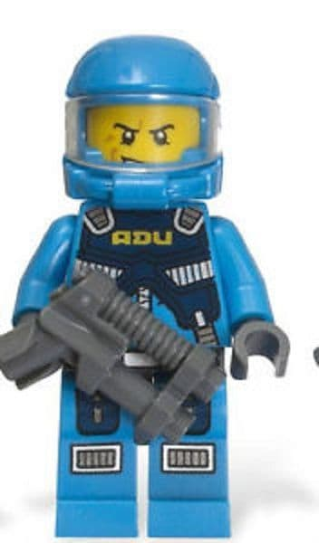 Soldier 6 from Lego Alien Conquest Minifigures