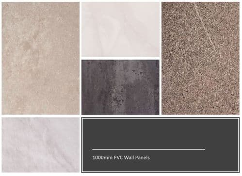 1000mm Wide Decorative Wall Panels