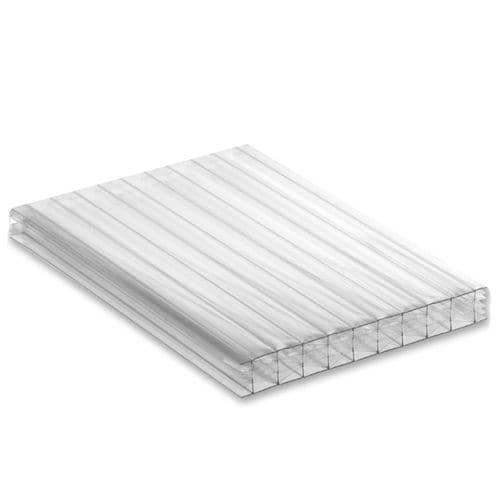 25mm Multiwall Conservatory Roof Sheet Clear