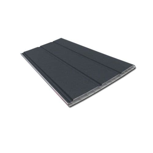 300mm Anthracite Grey Hollow Soffit Board
