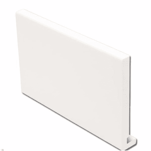 405mm White Fascia Board Double Ended 16mm 5mt
