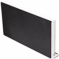 Black Ash uPVC Replacement Fascia Board 18mm 5mt